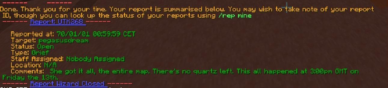 Report Exit